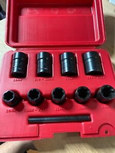 Mac Tools Sxt9lr 9 Pc Twist Socket Set