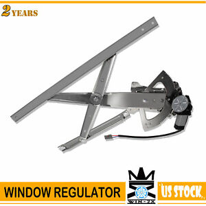 Front Passenger Side Power Window Regulator W Motor For Fit 91 01 Ford Explorer