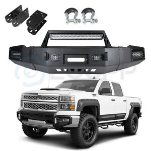 Steel Front Bumper Assembly For Chevy Silverado 1500 Sierra 1500 2007 2013