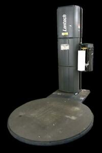 Lantech Q 300 Shrink Stretch Pallet Wrapping Machine 65 Turntable
