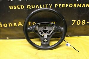 2006 2007 Mazdaspeed6 Mazdaspeed 6 Ms6 Oem Black Leather Steering Wheel