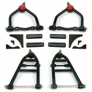 Mustang Ii Ifs Performance Tubular Control Arms Kit With Gussets Drag Gasser 350