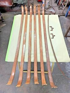 1951 Chevy Tin Woody Headliner Bows And Two Clips