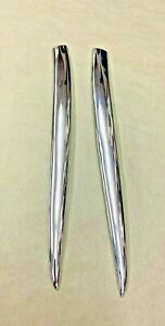 1951 Chevy Tin Woody Exterior Upper Stainless Front Door Set Pass Driver Sides