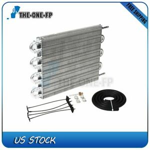 Transmission Oil Cooler Towing Up To 26 000 Lbs 3 4 Thick H q 1 2 Long New