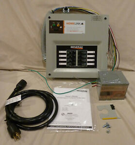 Generac 6853 Generator Transfer Switch System 30a 6 8 Circuits