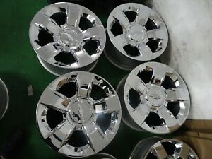 2019 Chevrolet Silverado 1500 Tahoe Suburban Oem Factory Chrome 20 Wheels Rims