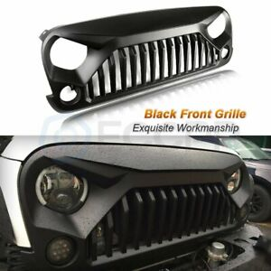 For Jeep Wrangler 07 18 Jk Unlimited Upgrade 1x Angry Bird Front Grill Grille
