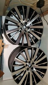 Range Rover Autobiography Style 22 Inch Wheels Refurbished Like New