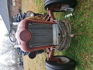 1954 57 Ford 860 Tractor