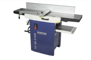 Rikon 25 210h 12 Planer jointer Mw helical Cutter Head