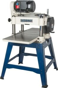 Rikon 23 150 15 Planer 3 0hp Open Stand W 3 Knife Cutter Head With Cast Iron