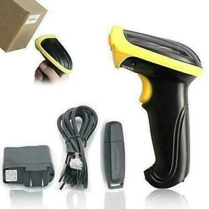 Barcode Scanner Reader Wireless Handheld Laser 2 4g Usb Convenience Boutique New