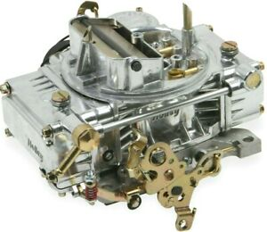 Holley Classic 4 Barrel 600 Cfm Carburetor Electric Choke Vacuum Secondaries