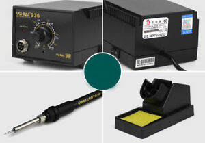 110v 220v 936 Anti static Soldering Station Constant Temperature Electric Iron X