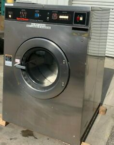 Speed Queen Commercial Front Load Washer Sc50 3ph 50lb refurbished
