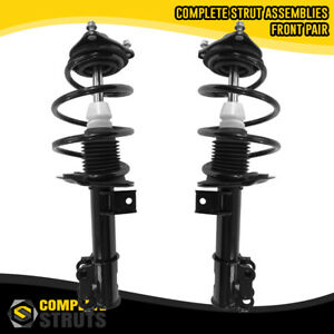 Front Pair Complete Struts Coil Spring Assemblies For 2011 2014 Hyundai Sonata