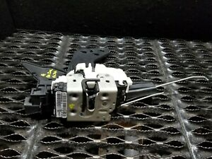 14 2014 Dodge Grand Caravan Front Left Driver Door Lock Latch Actuator Oem