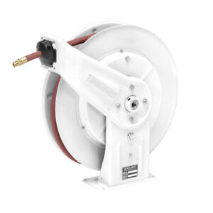 Reelcraft 7850 olp 17wh White Reel 1 2 X 50 300psi Air Water With Hose