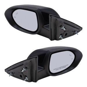 Power Mirrors Set Fits 2009 2010 Mazda 6 Mazda6 Heated Pair Blind Spot Detection