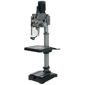 Jet 354024 Ghd 20pf 20 Gear Head Drill Press With Power Down Feed 230v 3ph