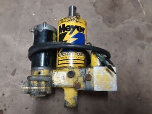 Working Meyer E 47 Snow Plow Pump E47 E57 E60 Hydraulic Unit Rebuildable Core