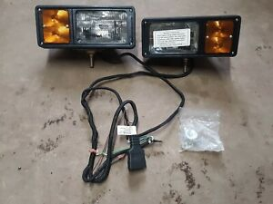 New Oem Western Unimount Fisher Minute Mount Snow Plow Lights 9 Pin 61540 1 8430