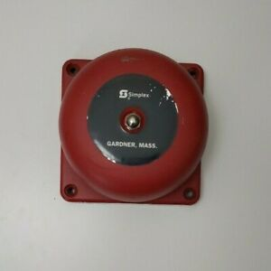 Simplex 2901 9331 Vibrating Bell W 4 Gong Fire Alarm Free Shipping