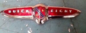 1942 1948 Buick Eight And 1949 Buick Special buick Eight Trunk Emblem