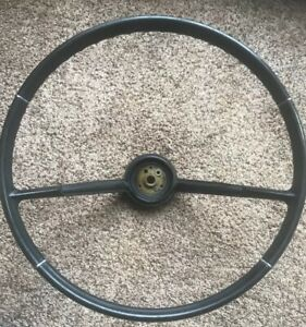 Chevrolet Corvair Steering Wheel Original Black 1965 1966 1967 1968 1969