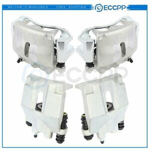 Front And Rear Brake Calipers Pairs For 2005 09 Ford F 150 06 08 Lincoln Mark Lt