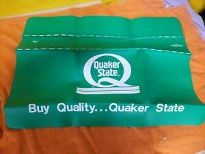 Original Rare Survivor 1960 70s Quaker State Oil Fender Accessory Hot Rod Nos