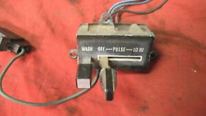1979 79 1980 80 1981 81 Firebird Trans Am Pulse Delay Wiper Switch Original Gm