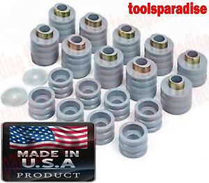 Ford F250 F350 Super Duty 1999 2017 Gray Rubber Cab Body Mount Bushing Kit