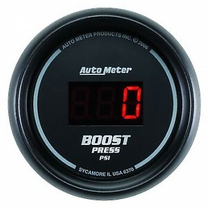 Auto Meter 2 1 16 Boost 5 60 Psi Sport Comp Digital