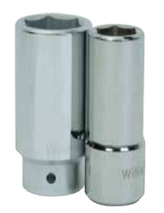 3 4 Drive Deep 6 Point Sockets Metric High Polished Chrome Finish Williams