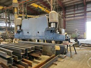 Used Pacific 16 X 500 ton Hydraulic Press Brake Accurpress Amada Cincinnati