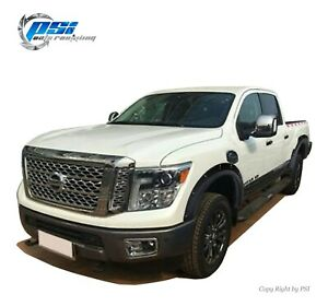 Pop out Bolt Fender Flares Fits Nissan Titan Xd 2016 2020 Sand Blast Textured