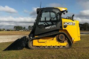 2015 Jcb 260t Track Skid Steer 2 speed High Flow Srs 690 Hrs Heated Seats