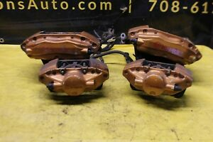 03 06 Nissan 350z Brembo Brake Calipers Front Rear Oem