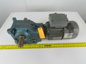 Sew Eurodrive K67dt90l4bmg2hr 2hp Gear Motor 57 28 1 Ratio W brake 230 460v 3ph