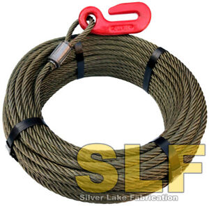 Igland Norse 3 Point Hitch Logging Winch Cable 165 X 3 8 With Hook Skidder New