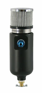 Moroso 10an Fitting Breather Tank W Filter 1 Quart Capacity 85402