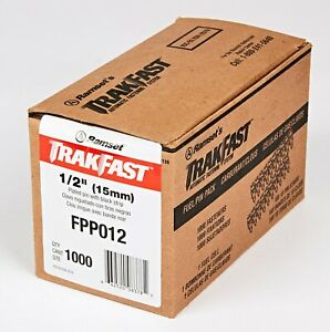 1000 Ramset Trakfast Pins Fasteners 1 2 15mm With 1 X Fuel Cell Fpp012