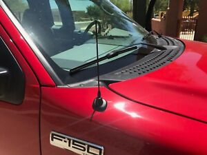 9 Black Stainless Antenna Mast Power Radio Am fm For Ford F 150 1980 2008 New