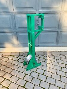 Greenlee 649 Pipe Adapter Sheave For Your Tugger Wire Cable Puller