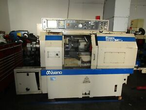Miyano Bnd 34t Cnc Sub Turret Live Tool C Axis Lathe See Video
