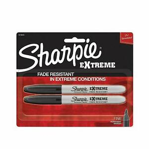 Sharpie Extreme Permanent Markers 2 pack Black 1919845