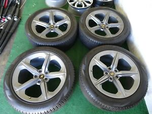 Lamborghini Urus Oem Factory 21 Wheels Rims Satin Grey Pirelli Tires 39 Miles