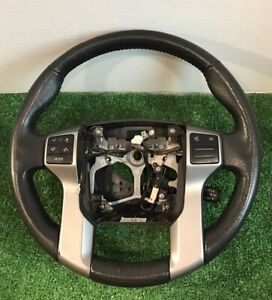 12 13 14 Toyota Tacoma Steering Wheel Black Leather Oem With Controls Cruise
